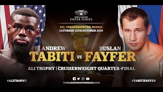 Tabiti vs Fayfer - WBSS Season 2 Cruiserweight QF1