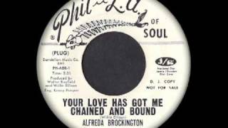 Alfreda Brockington - Your Love Has Got Me Chained And Bound