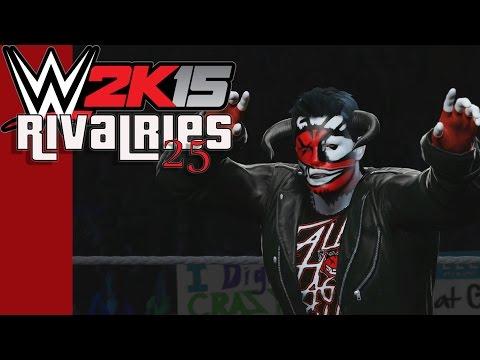 WWE 2K15 - CaRtOoNz Vs H2O Delirious (Next-Gen Beatdown / Rivalries 25))