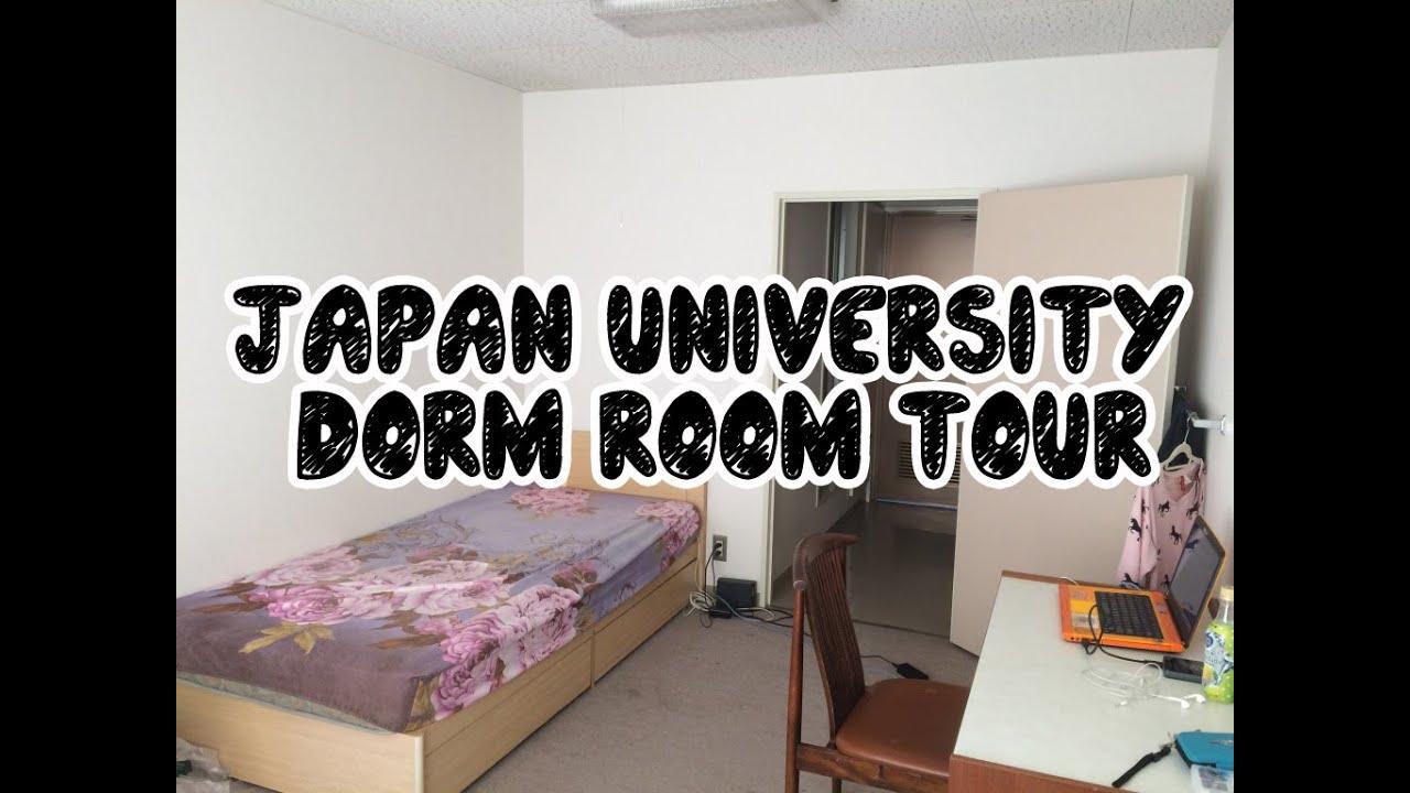 JAPAN VLOG University Dorm Room Tour KGU International Residence II