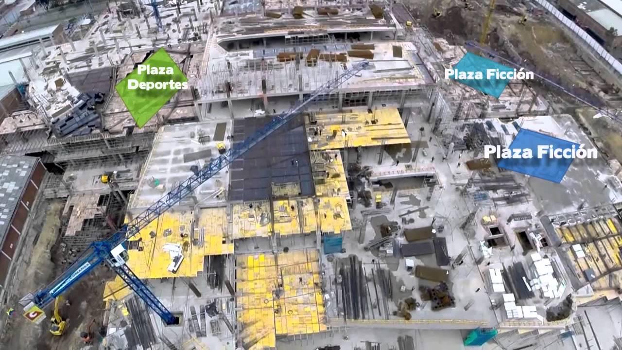 Plaza central centro comercial avance de obra enero de - Centro comercial de la moraleja ...