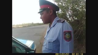 г.Уральск Инспекторы ДПС не желают разговаривать