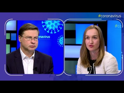 LIVE Chat With Executive Vice-President Dombrovskis