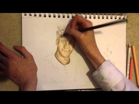 Caspar Lee Drawing - Time Lapse