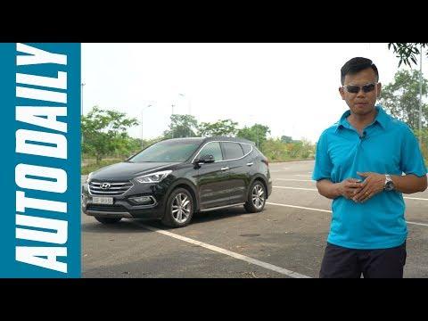 Đánh giá xe Hyundai SantaFe máy xăng 2.4L: Quá ngon trong tầm giá |AUTODAILY.VN|