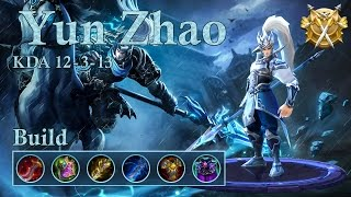 Mobile Legends: Yun Zhao, high damage tanky build!
