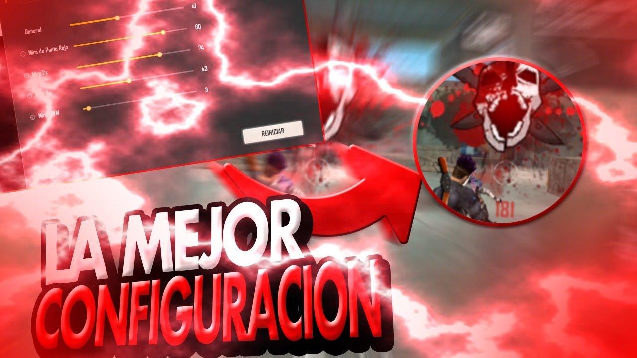 LA MEJOR CONFIGURACION PARA DAR MUCHOS TIROS EN LA CABEZA en FREE FIRE