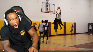 BEST ALLEY OOP DUNK YOU EVER SEEN! Trash Talking TEAM Gets EXPOSED! Men's League Basketball!