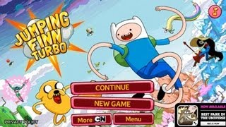 Jumping Finn Turbo Android App Review (Gameplay)