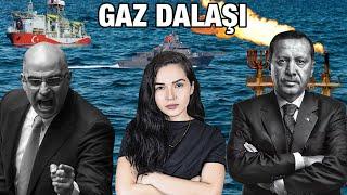 DOĞU AKDENİZ'DE GAZ DALAŞI !