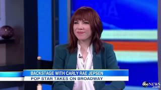 Carly Rae Jepsen is Broadway Bound in `Cinderella