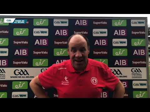 Tyrone joint-manager, Feargal Logan, talks to GAA.ie