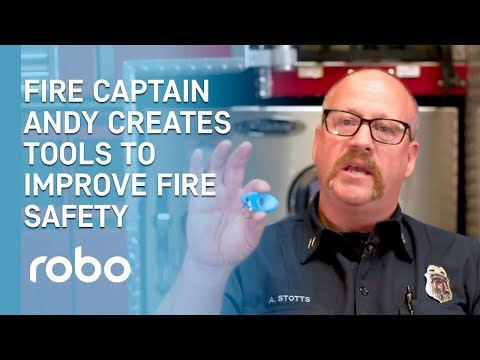 Robo and Andy Stotts - Bringing 3D printing to the Fire Department