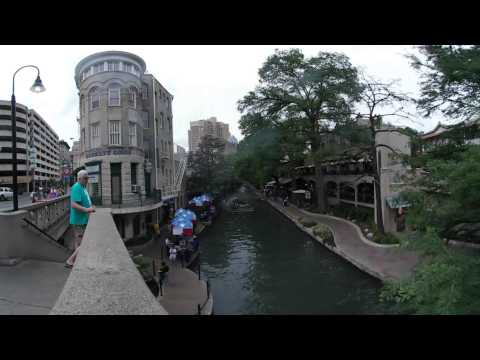 Riverwalk Near Commerce St., San Antonio, Texas