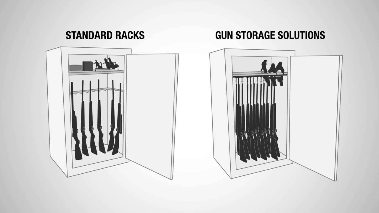 Gun Storage Solutions Safe Accessories - YouTube