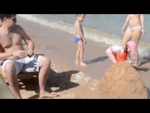 Пляж отеля LillyLand 4* (Египет, Хургада)