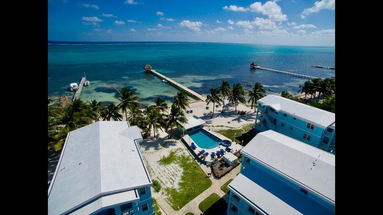 Sunset Beach Resort Condo B2 Ambergris Caye Belize Youtube