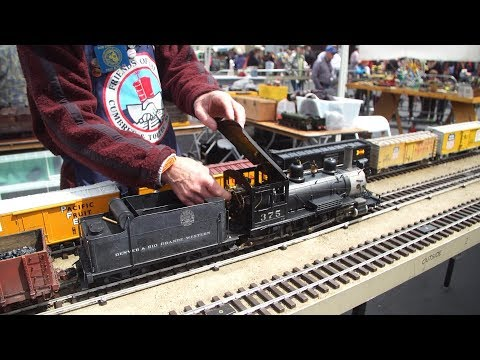 Model Trains with Working Steam Engines!