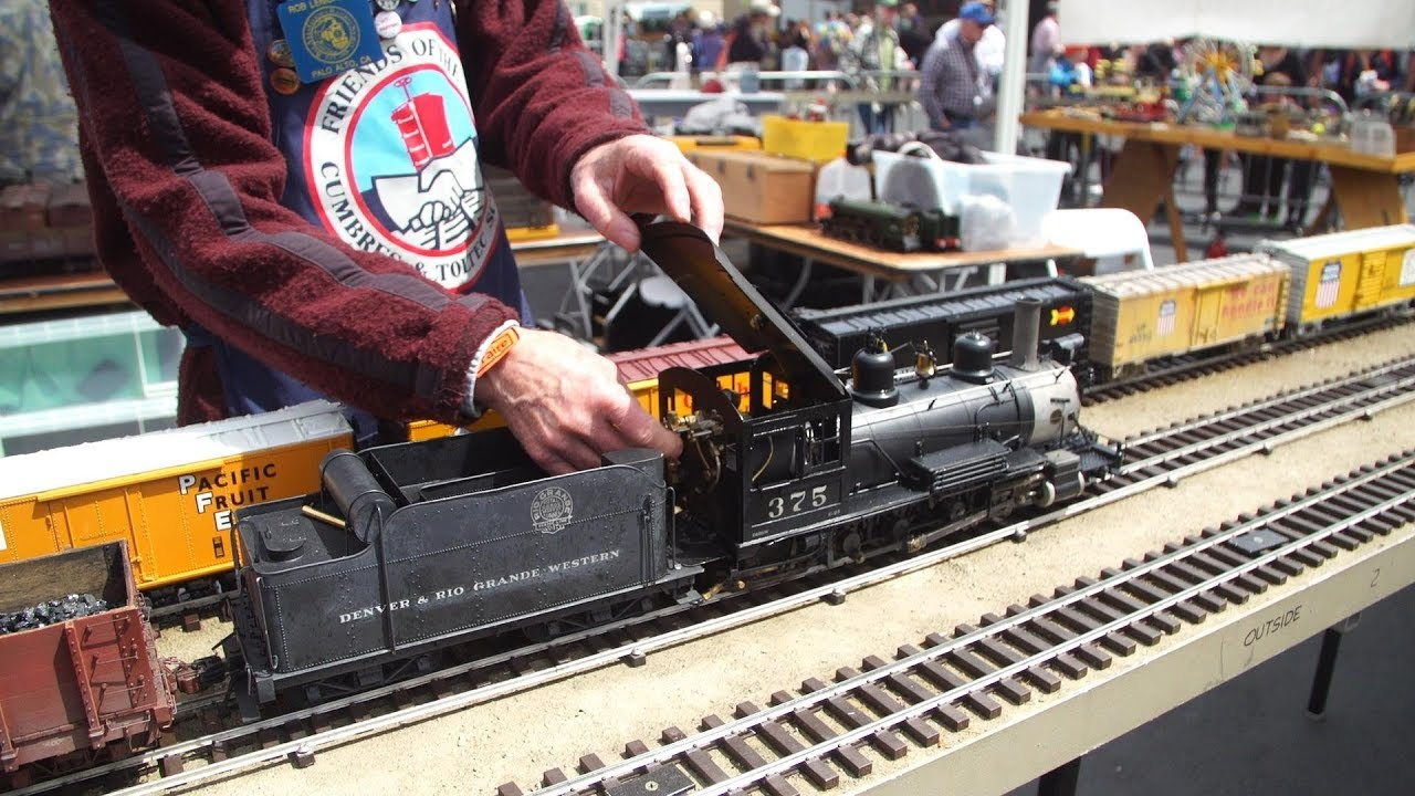 Model Trains with Working Steam Engines! - YouTube