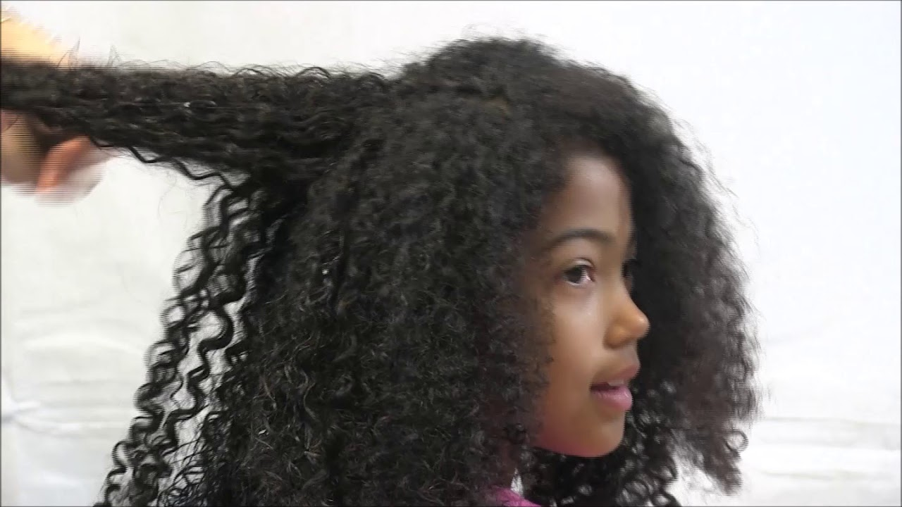 how to detangle & moisturise mixed race & bi-racial hair