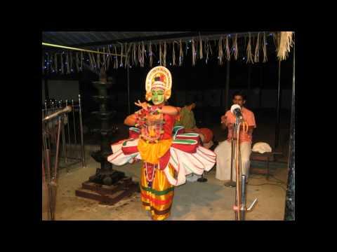 Kalyana sougandhikam thullal   Kunjan Nambiar