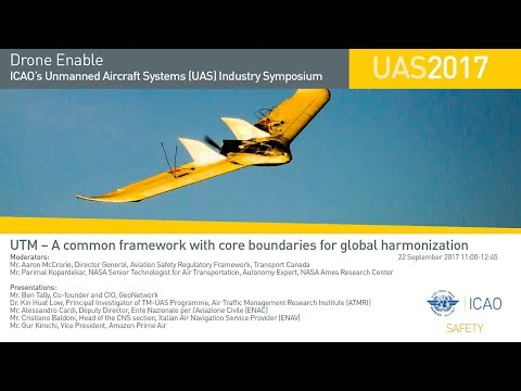 #DroneEnable UTM – A common framework with core boundaries for global harmonization