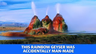 Rainbow geyser was accidentally man-made