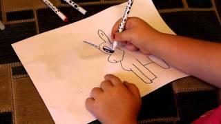 Как нарисовать пони из мультфильма  Видео урок
