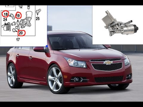 2011 chevy cruze bad smell oil cooler leak youtube. Black Bedroom Furniture Sets. Home Design Ideas