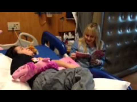 Andrea Libman Uses Pinkie Pie Voice to Read to Michael!
