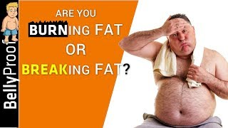 Increase Fat Burning Rate (by breaking it first!)