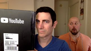 Unboxing the YouTube Silver Creator Award for Reaching 100,000 Subscribers!