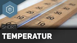 Temperatur T – Celsius, Kelvin, Fahrenheit - #TheSimpleShort