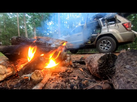 Camping In A Jeep, River Exploring, And More (Camping Adventure Part 4)