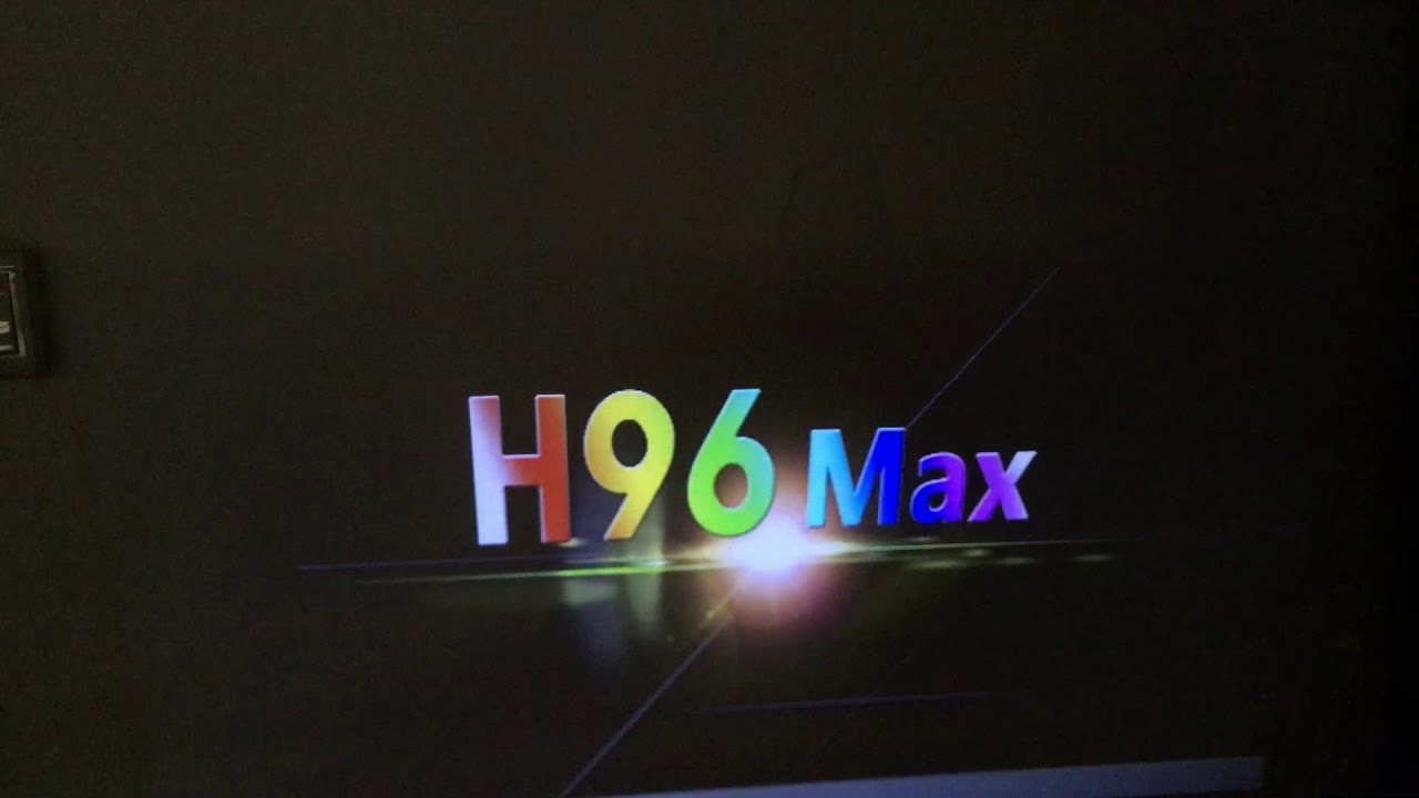 Factory Setting operation on H96 MAX TV box device Video 2