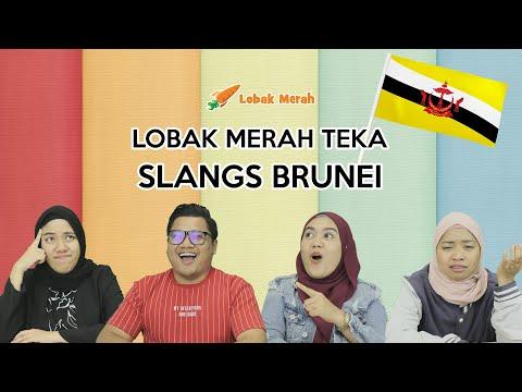 Lobak Merah Teka Slangs Brunei!