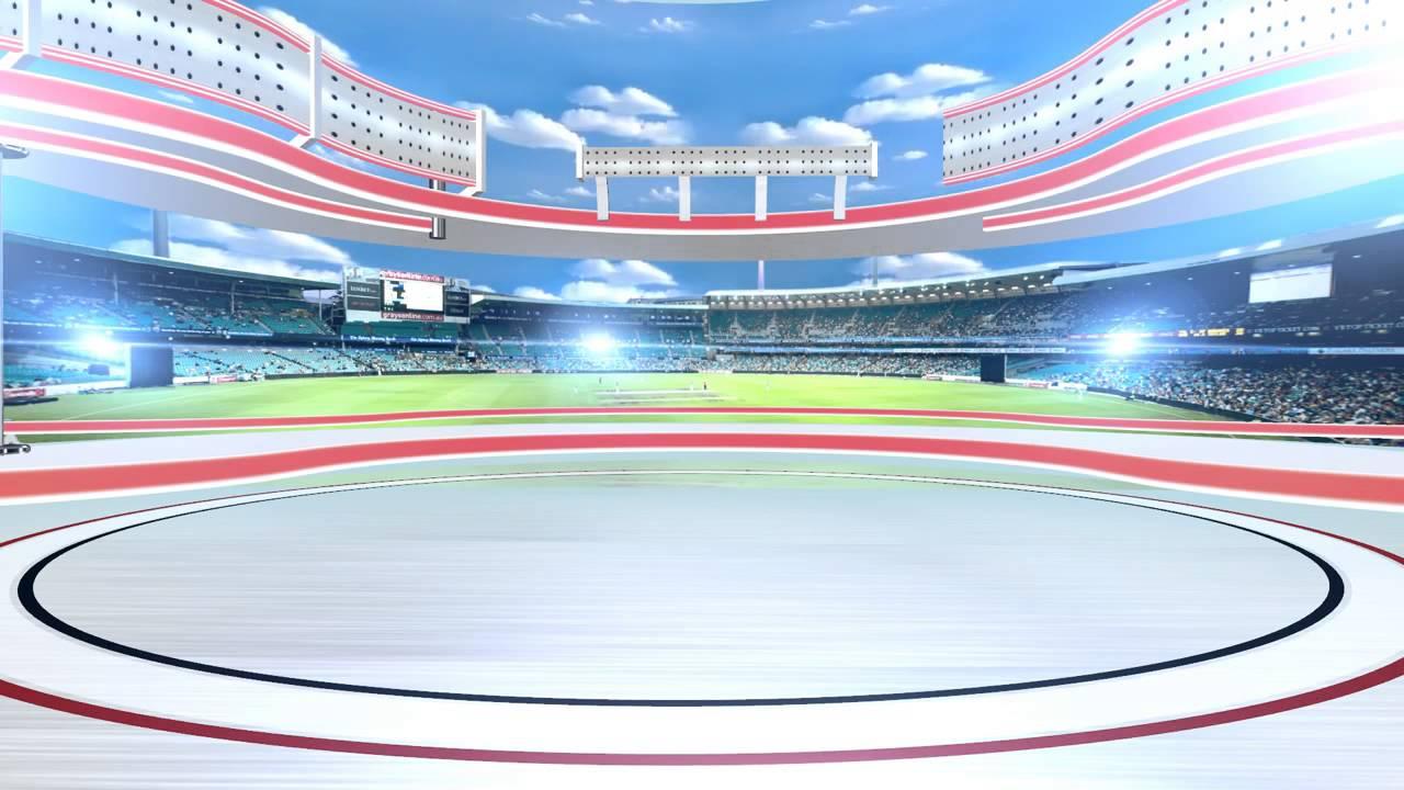 Free Hd Virtual Studio Sports Stadium Long Hd - Youtube-6927
