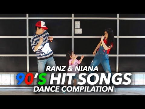 90s Hit Songs Dance Compilation  Ranz and Niana