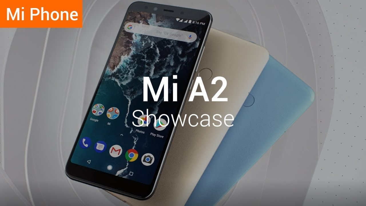 Mi A2: Full Screen and Metal unibody
