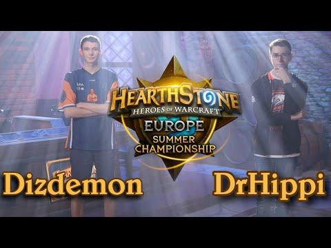 Dizdemon vs DrHippi - HCT 2016 Europe Summer Championship: Semifinal