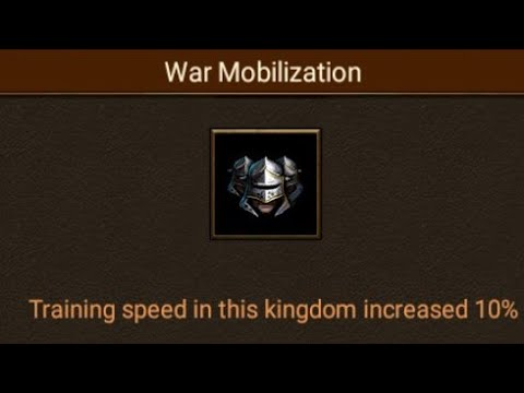 Clash Of Kings- 645% Training Speed And Internal Troop Layering