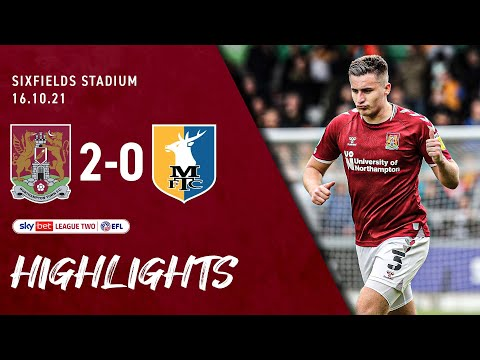 Northampton Mansfield Goals And Highlights