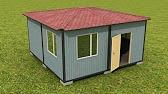Сверхэкономичный дом-контейнер - YouTube