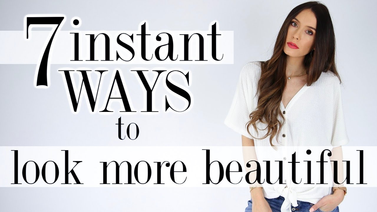 10 Ways To INSTANTLY Look BEAUTIFUL! *real tricks*