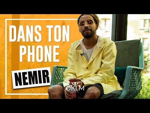 Youtube: NÉMIR – DANS TON PHONE : Gad Elmaleh, Hatik, Instagram…