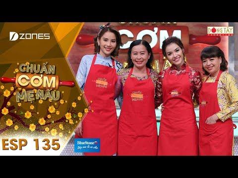 Chuẩn Cơm Mẹ Nấu   Tập 135 Full HD: Nam Anh - Kim Hạnh (18/02/2018)