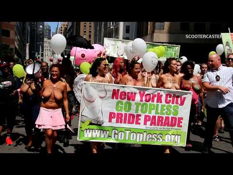 GO Topless Day Parade - NYC 2018