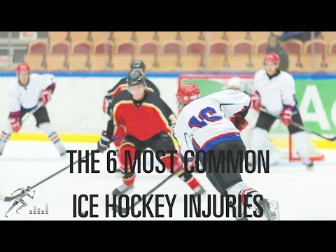 6 common ice hockey injuries