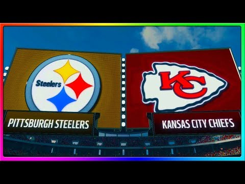 Kansas City Chiefs vs Pittsburgh Steelers, Alex Smith vs Ben Roethlisberger | Madden 18 Gameplay