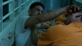 Daredevil - Punisher prison fight Scene (HD 1080p)
